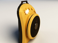 充电风扇外观设计