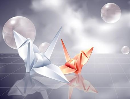 千纸鹤的含义 千纸鹤数量的含义图片