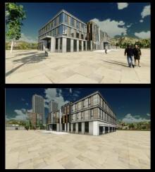 黑龙江厂区规划—办公楼设计
