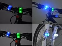 一款多功能自行车尾灯