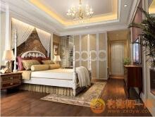 威客服务:[17605] 简欧风格卧室设计