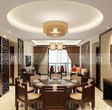 利玛·国际锦苑普通住宅3室2厅2卫中式装修案例效果图