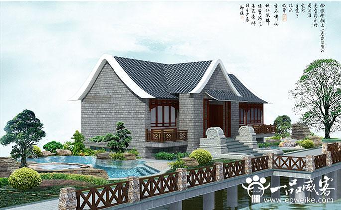 城市河道园林景观设计中的环境小品设施,主要包括花坛花钵,休憩亭廊