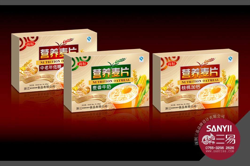 营养麦片_深圳三易品牌设计有限公司案例展示_一品