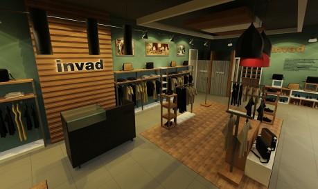 服装店面设计_久形设计案例展示