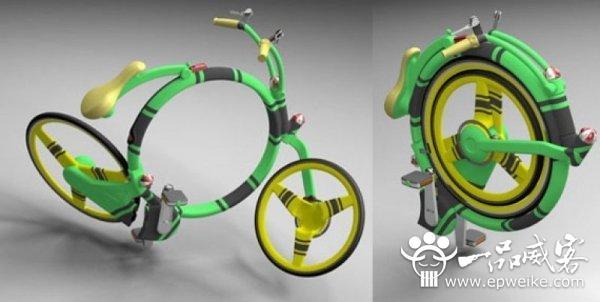 未来创意自行车设计 创意概念自行车设计欣赏