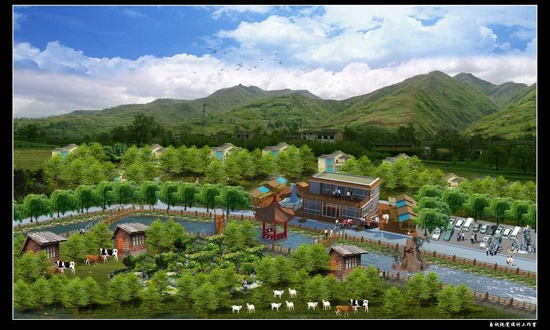 【园林设计&庭院景观设计&别墅&广场&农家乐&产业园&