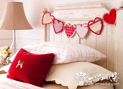 情人节房间如何营造浪漫气氛