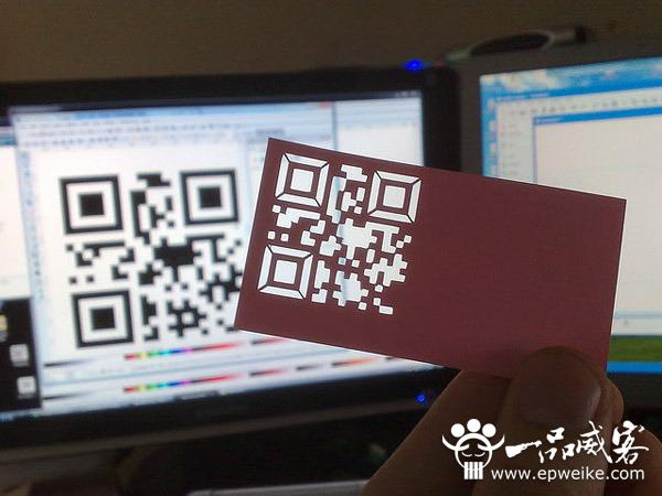 创意二维码名片设计制作 二维码名片设计制作欣赏