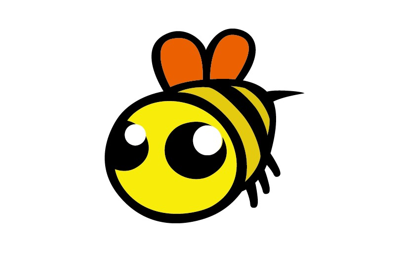为蜂蜜产品设计蜜蜂卡通形象