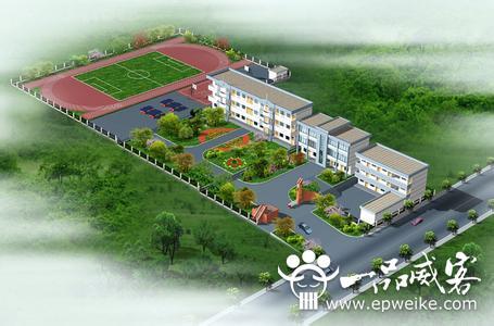 大学校园园林景观设计规划 大学校园园林景观设计的作用图片