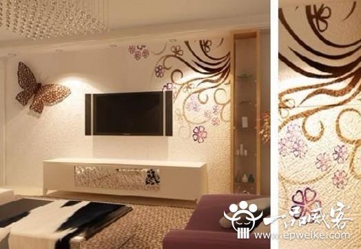 怎么选择客厅手绘墙画设计题材 客厅手绘背景墙设计风格