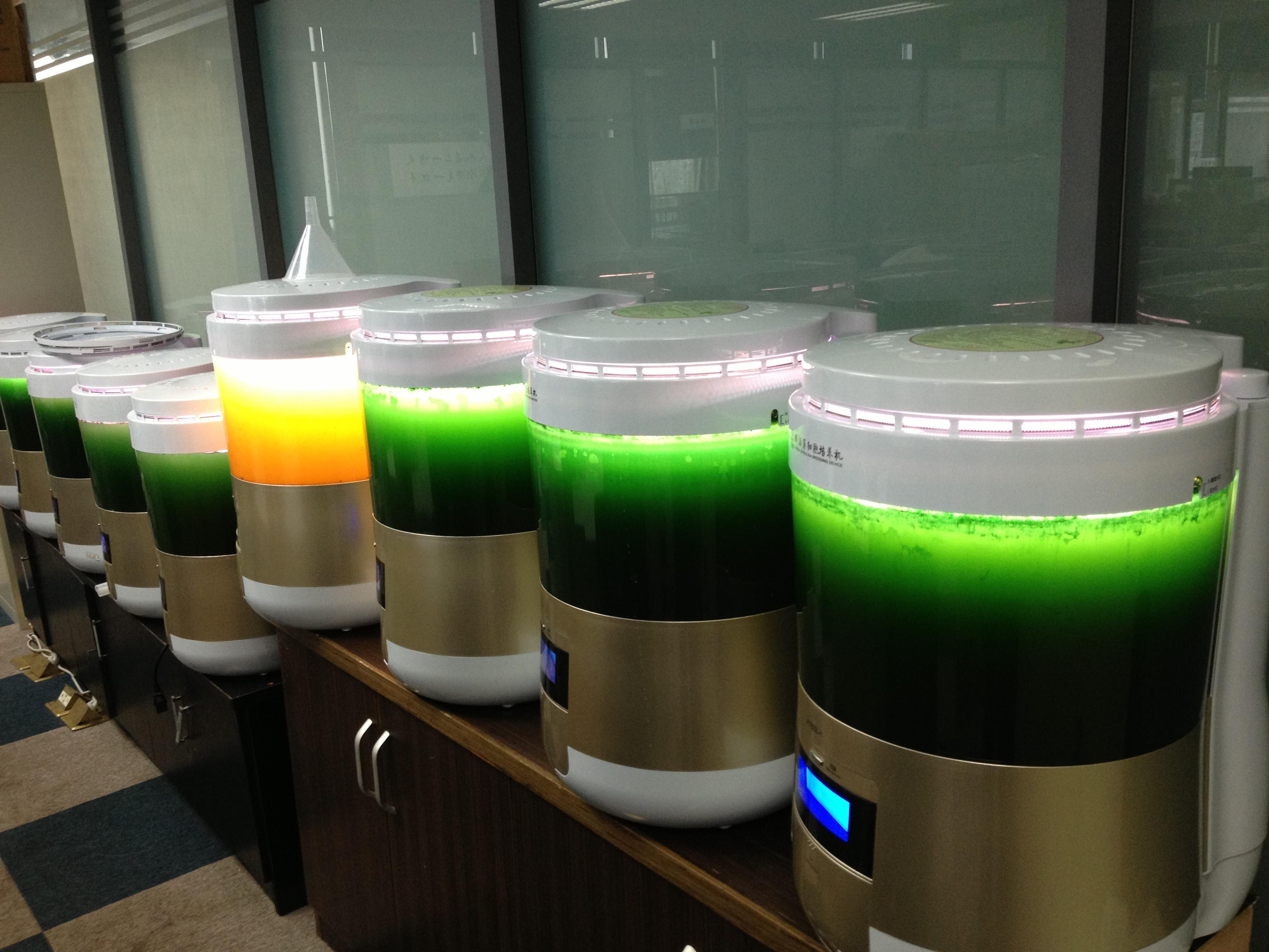 藻益生牌微藻培养机的外观和结构设计