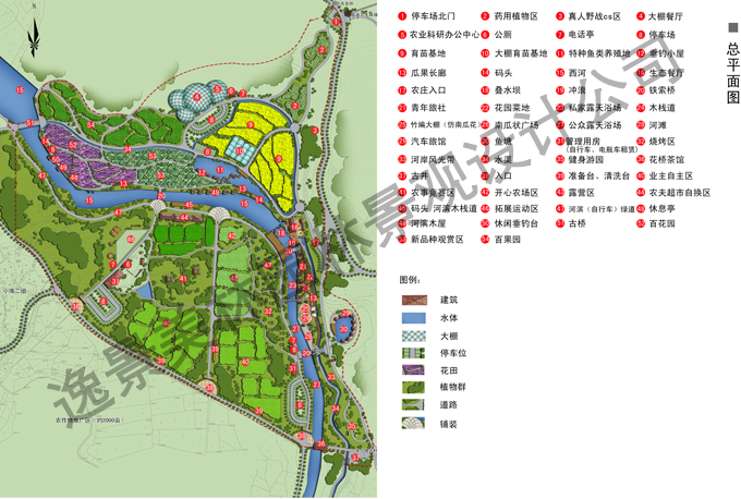 湖南某生態農莊設計
