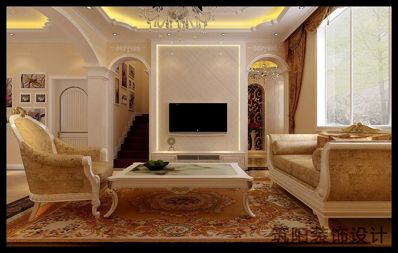 欧式别墅_筑阳装饰设计工作室案例展示_一品威客网