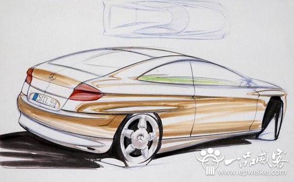 汽车工业设计手绘步骤教程_汽车产品工业设计手绘流程