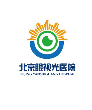 北京眼视光医院logo设计