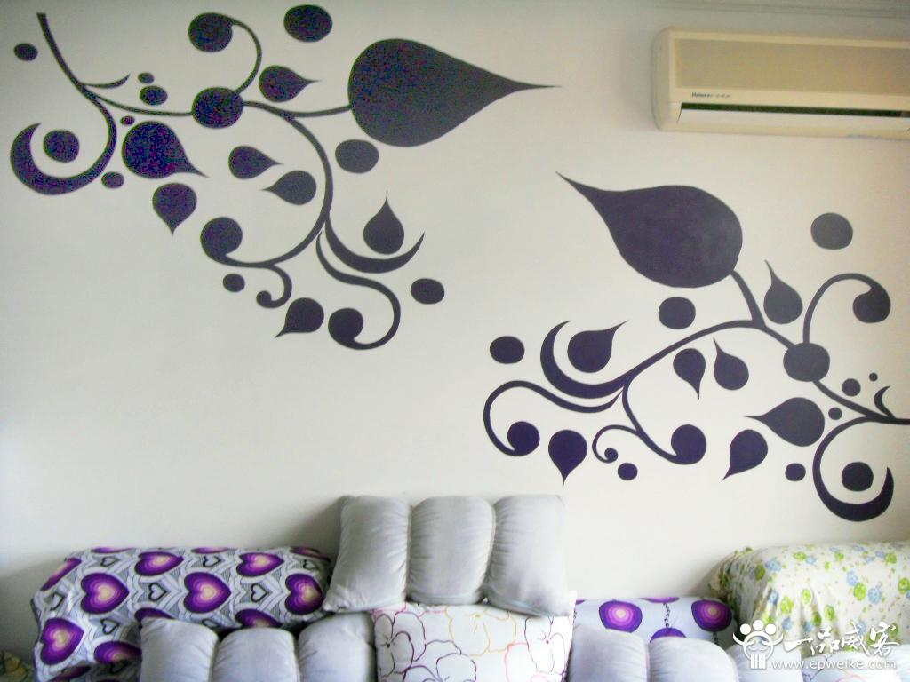 手绘墙设计