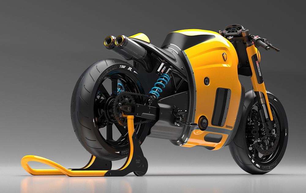 概念摩托车设计分享