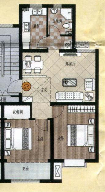 80平新房子装修设计