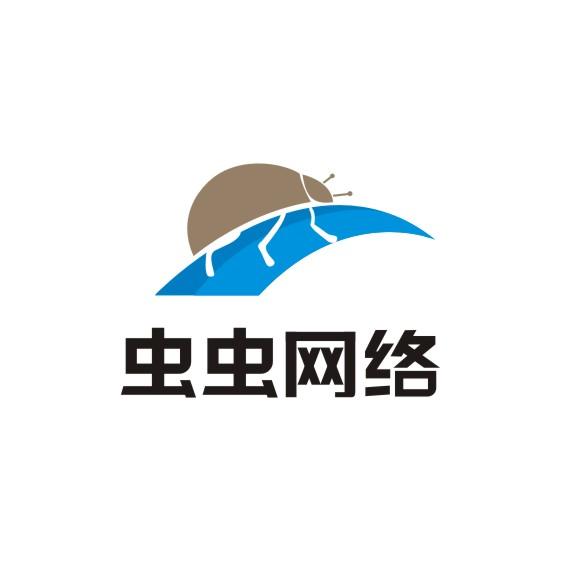 虫虫网络logo_钙邦设计案例展示