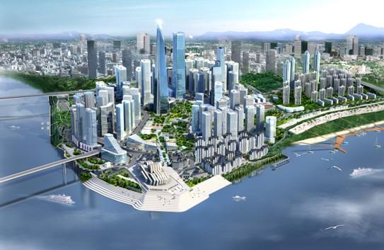 城市商业区CBD规划设计案例说明