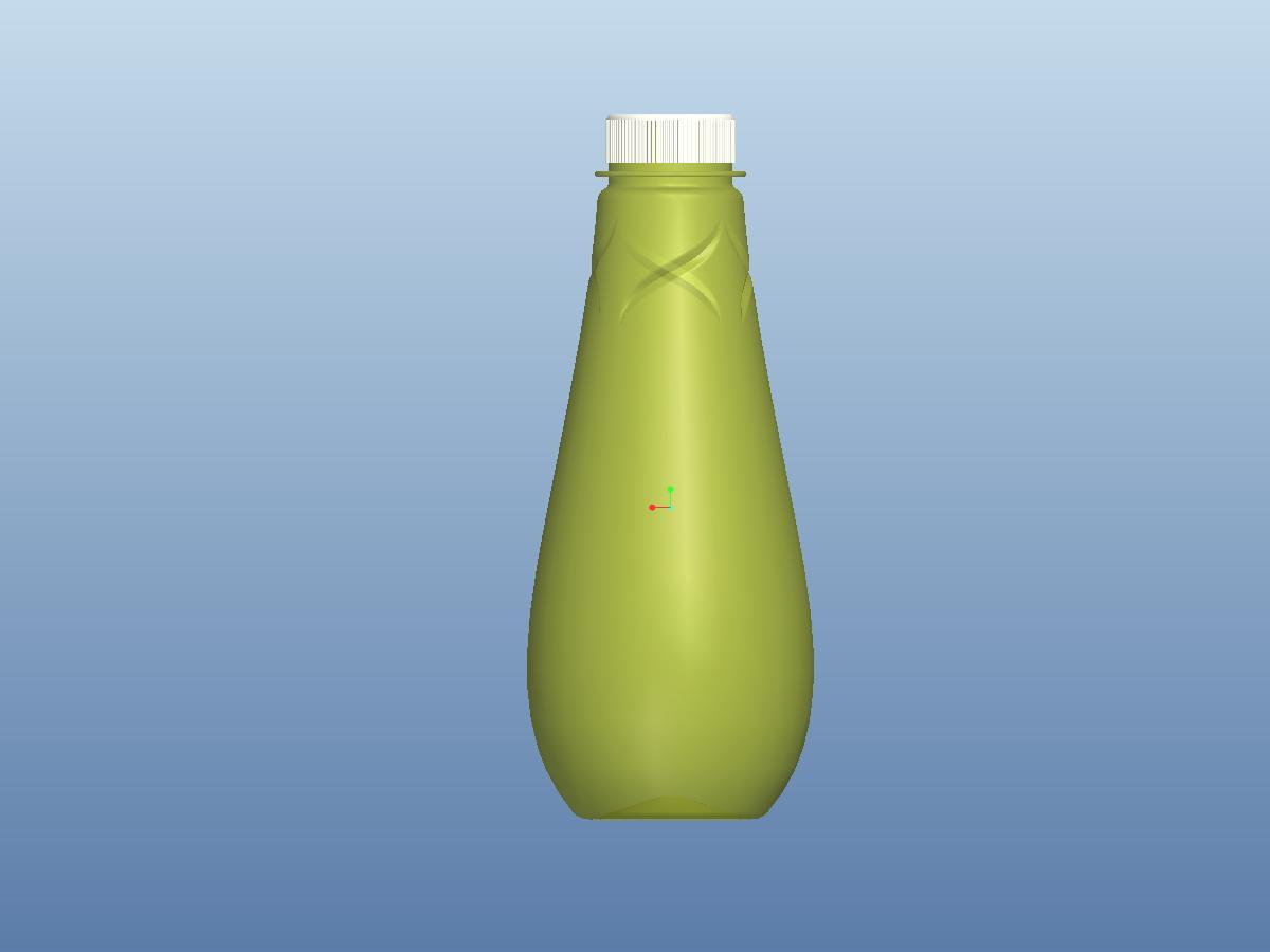 塑料瓶子设计_精良工业设计_产品外观设计_1654790