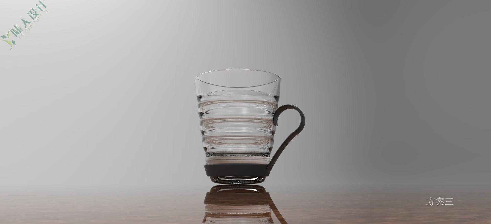 一款简单的家用水杯改良设计