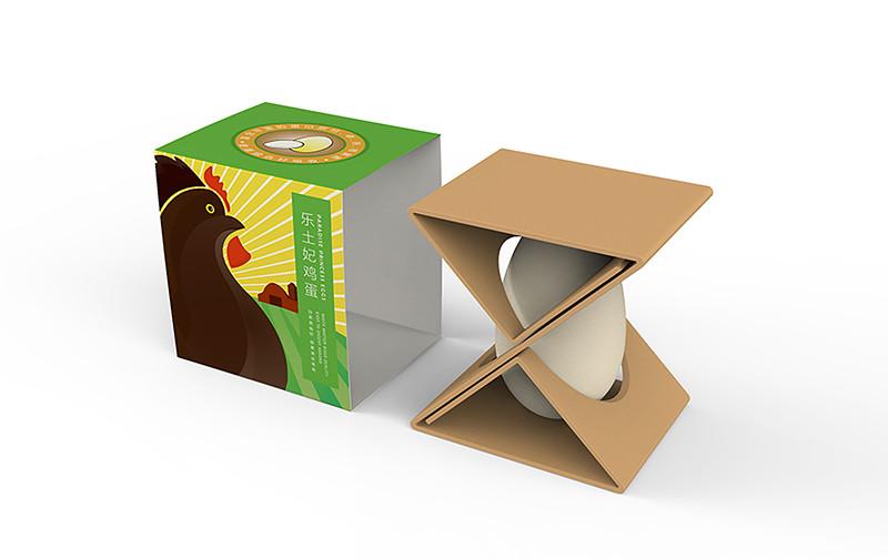 乐土妃鸡蛋包装设计