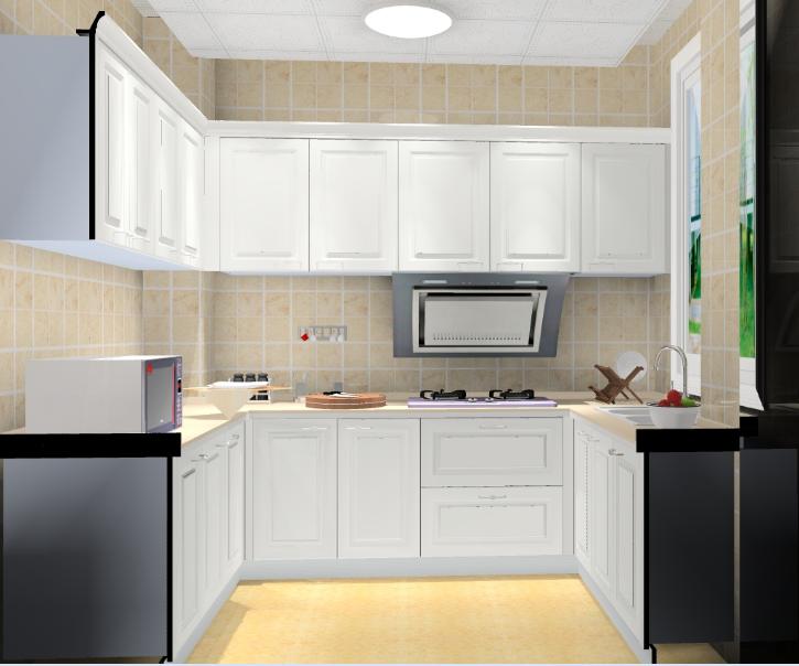 欧式大厨房图片