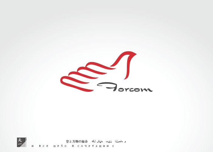 上海孚开实业有限公司logo商标设计