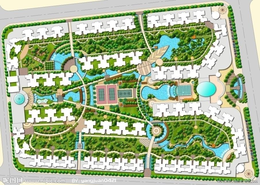 住宅优秀小区规划一些基本要素