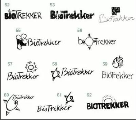 标签设计草图的两种用法