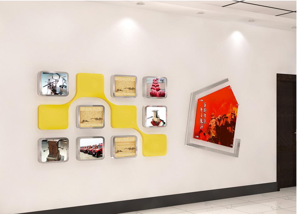 公司前台形象墙设计小集