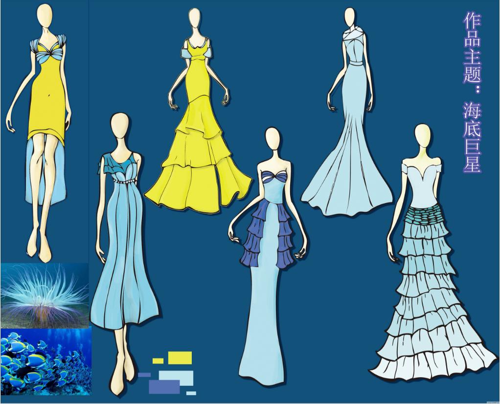 工作服设计方法,工作服设计黄色适合搭配什么颜色