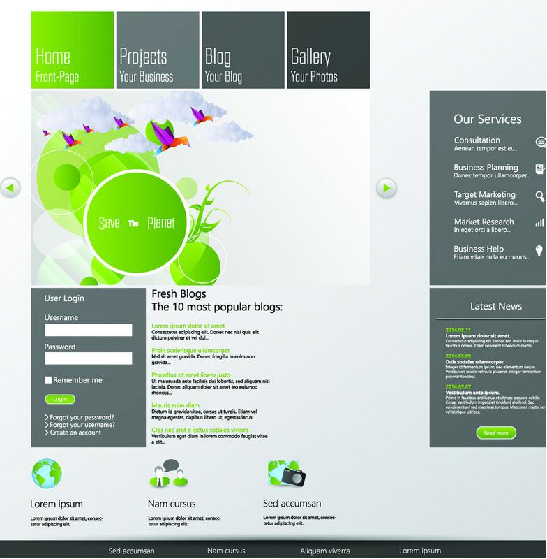 网页设计方法,网页设计用图技巧