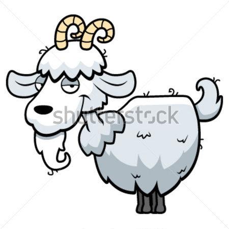 山羊卡通设计