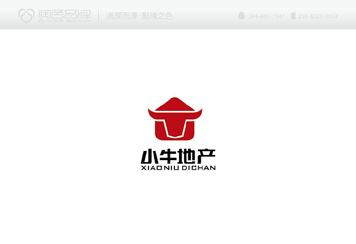 房地产中介公司logo设计图片