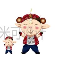 威客服务:[75498] 日式唯美动漫人物国产卡通吉祥物