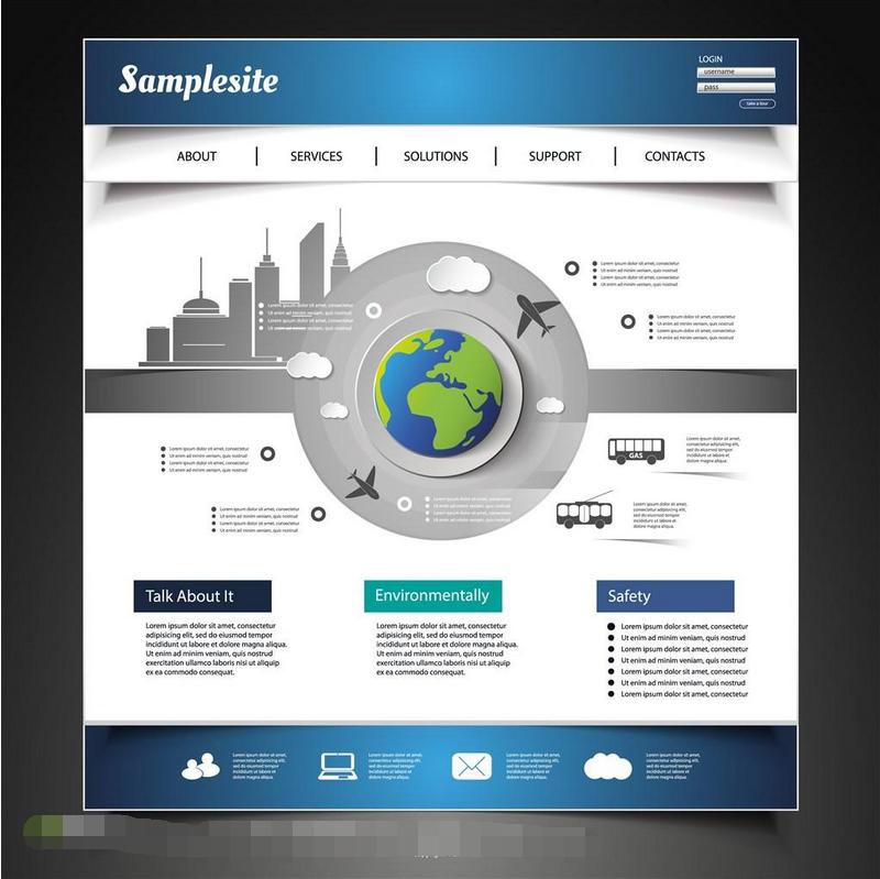 网页设计的简约设计风格,什么是极简设计