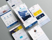 公众国际旅游appUI设计