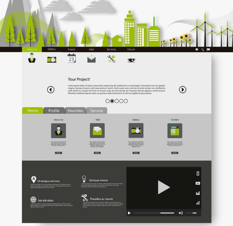 网页设计的极简主义风格如何设计出来