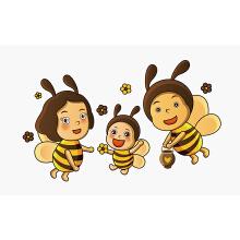 【优行创意设计】蜂蜜插画卡通设计 logo设计 包装设计 提高品牌辨识度 树立品牌形象 传播品牌故事