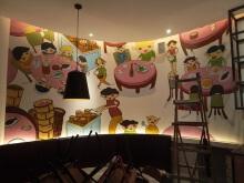 威客服务:[99698] 广东墙绘 涂鸦 各种手绘 壁画等