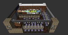 某餐饮广场茶餐厅方案