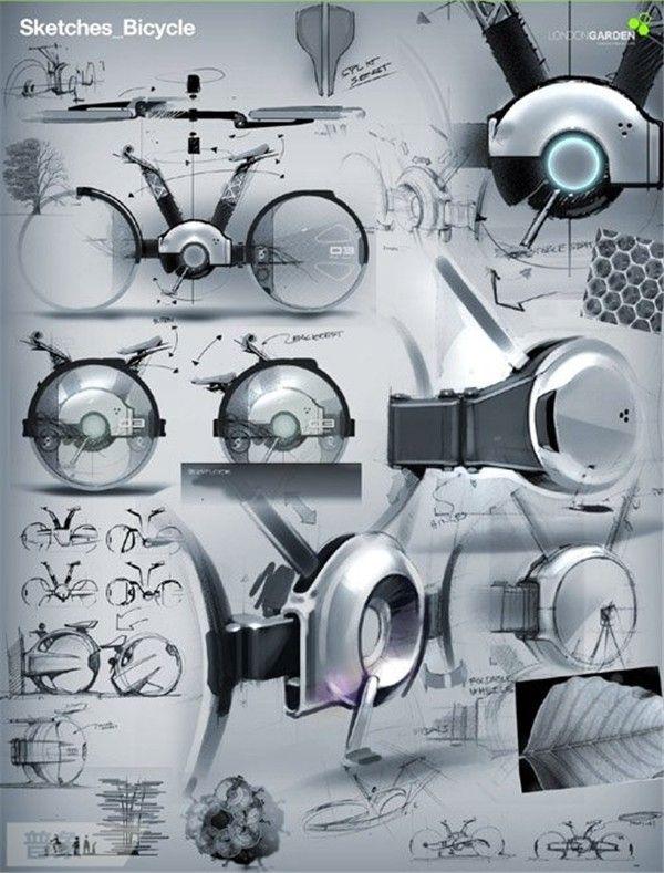 酷炫工业设计展板