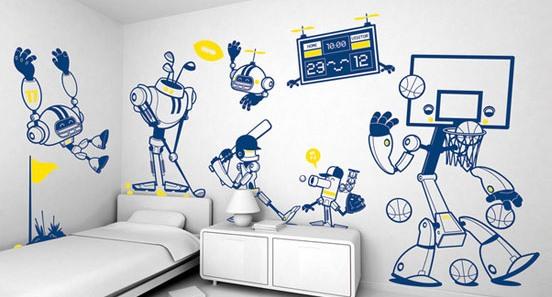 创意手绘墙怎么设计,创意墙绘素材集锦