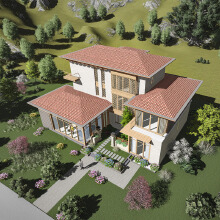 中式别墅设计