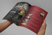 莱仕汉堡宣传手册