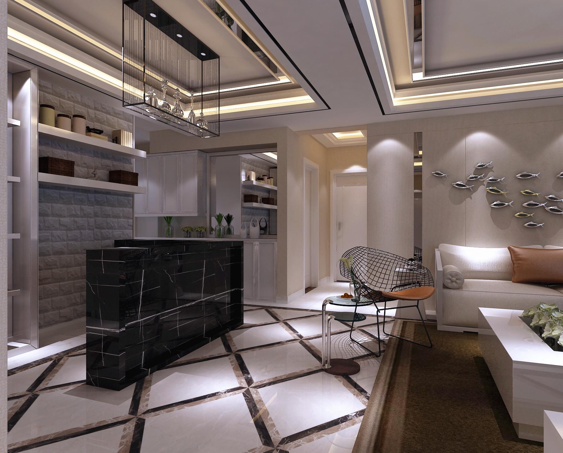 两室两厅后现代风格赏析